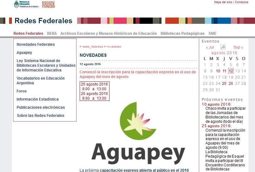 Blog Redes Federales