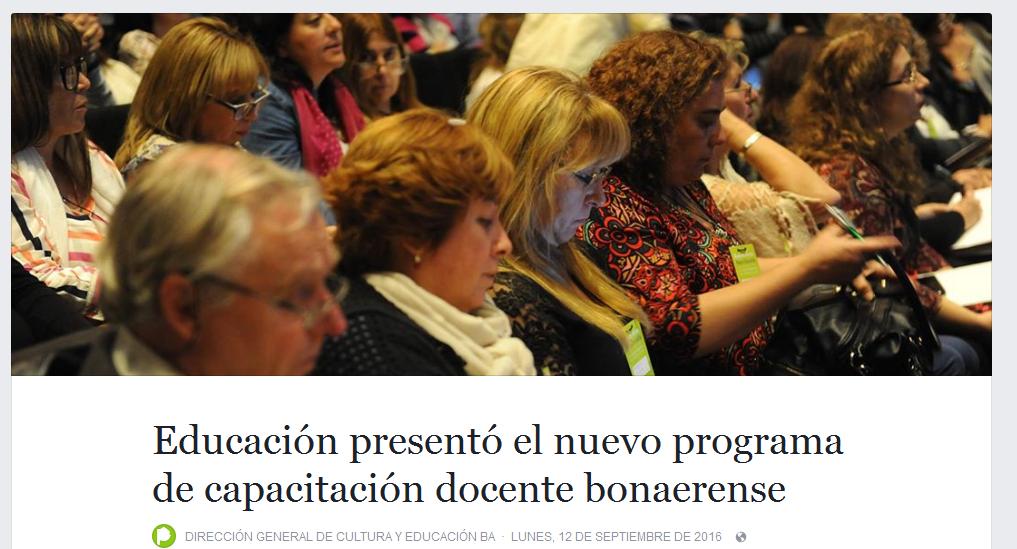 Educación presentó el nuevo programa de capacitación docente bonaerense.png
