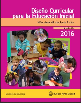 Para jefaturas regionales y distritales for Diseno curricular para el nivel inicial